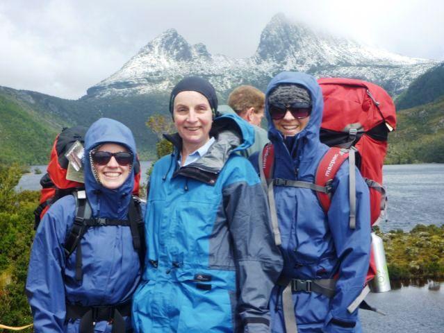 Tiz, Justine & Naomi Murray 48, 22 & 20 yrs old respectively, Berwick
